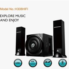 Loa Golden Field H308 HIFI /2.1 USB,Bluetooth,SD,