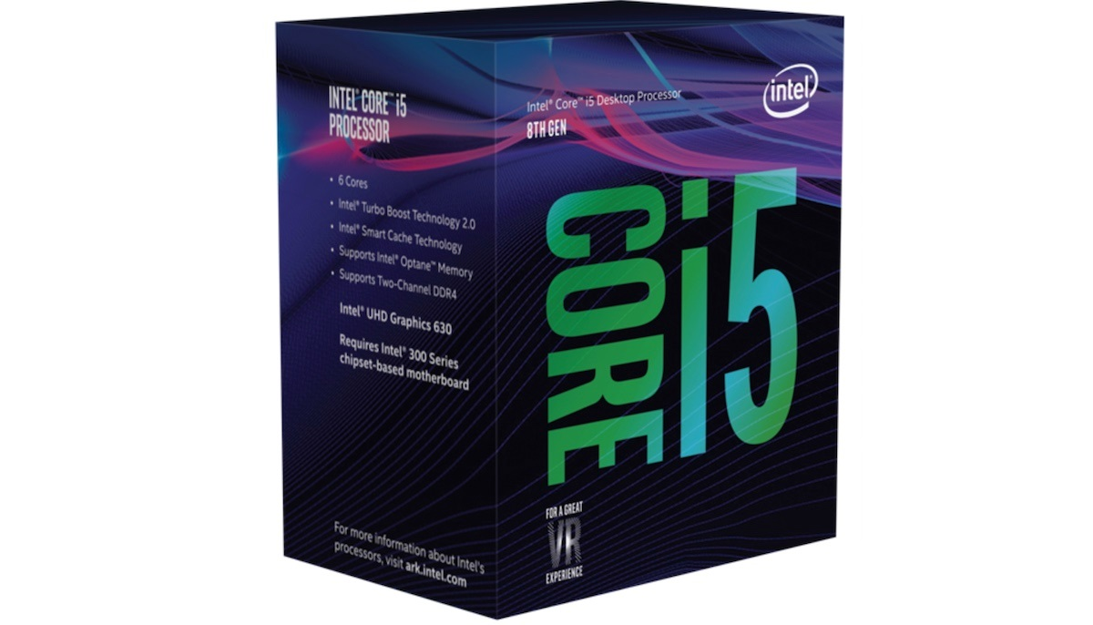 CPU Intel Core i5 9400 2.9 GHz turbo up to 4.1 GHz