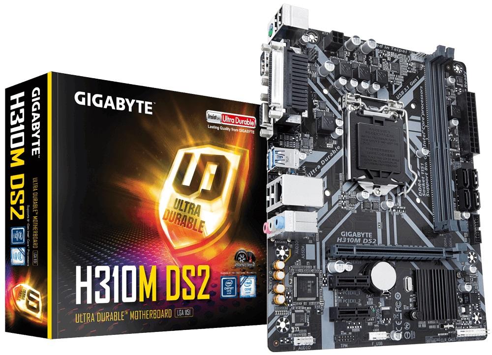 Main Gigabyte H310M-DS2 (Chipset Intel H310/ Socke
