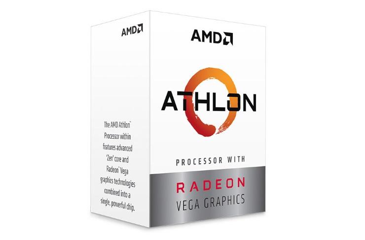 CPU AMD Ryzen Athlon 200GE (3.2Ghz/ 5Mb cache)