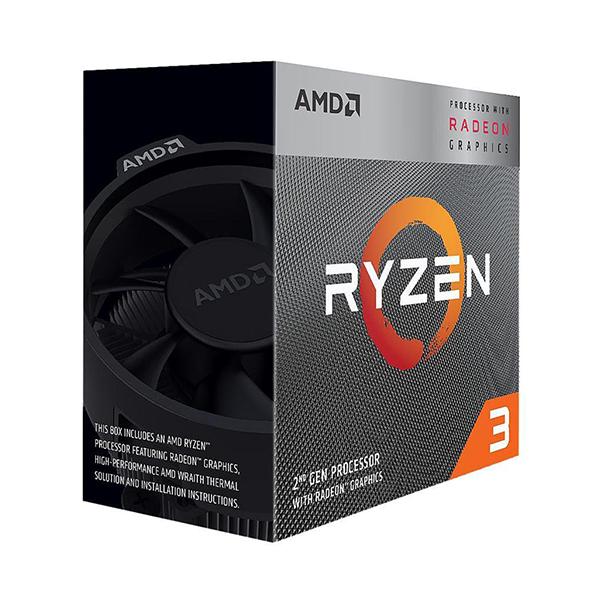 CPU AMD Ryzen 3 3200G (Up to 4.0Ghz/ 6Mb cache)