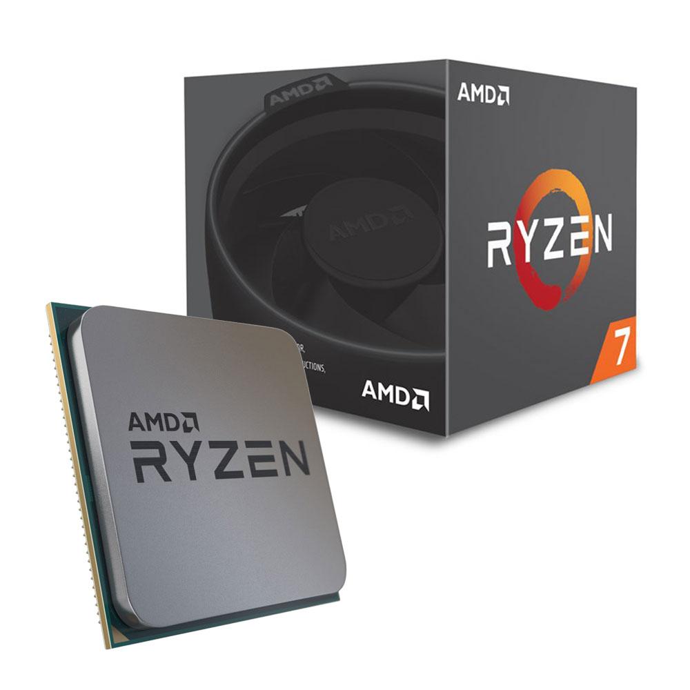 CPU AMD Ryzen 7 2700 (Up to 4.1Ghz/ 20Mb cache)