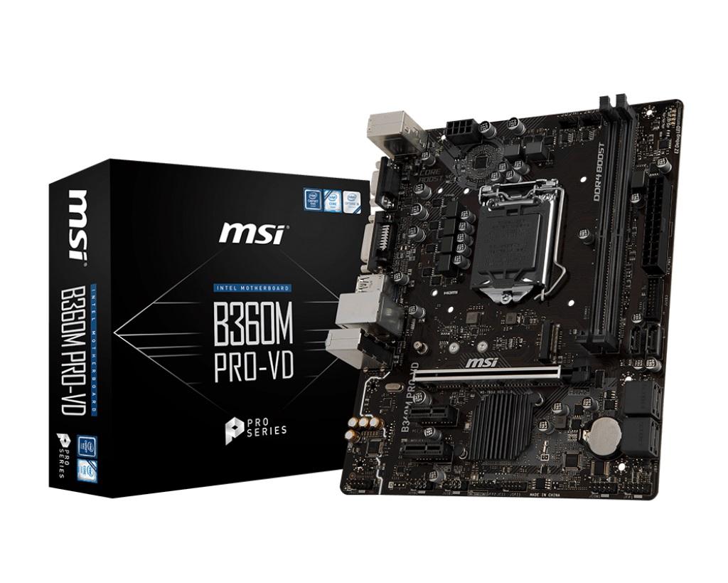 Main MSI B360M PRO-VD