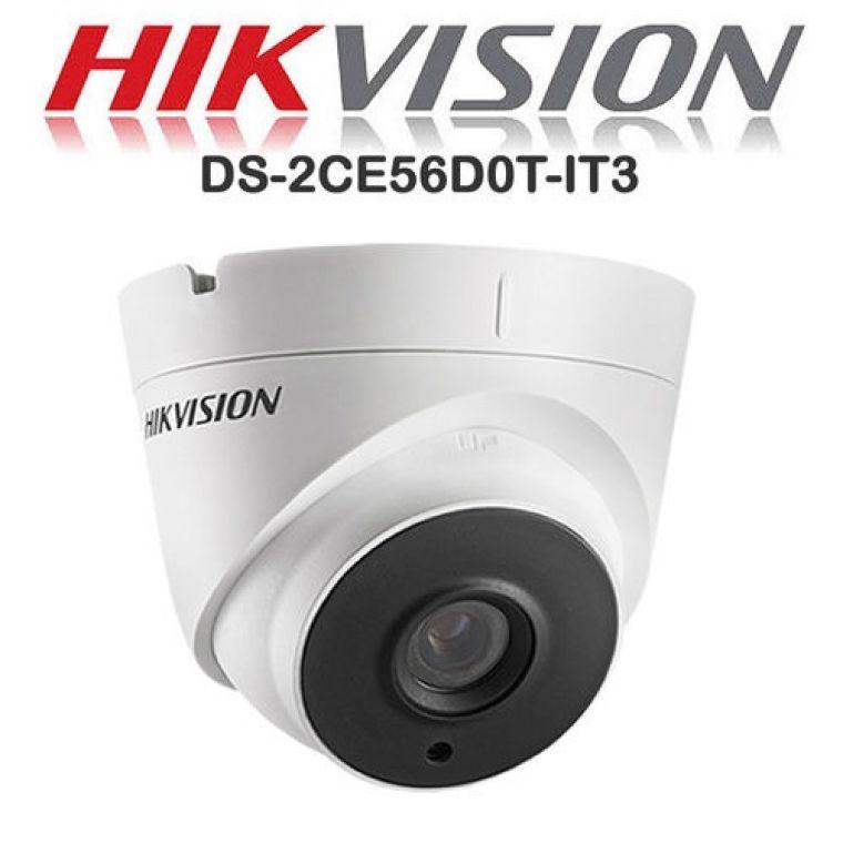 Camera HDTVI Dome 2MP Hikvision DS-2CE56D0T-IT3(C)